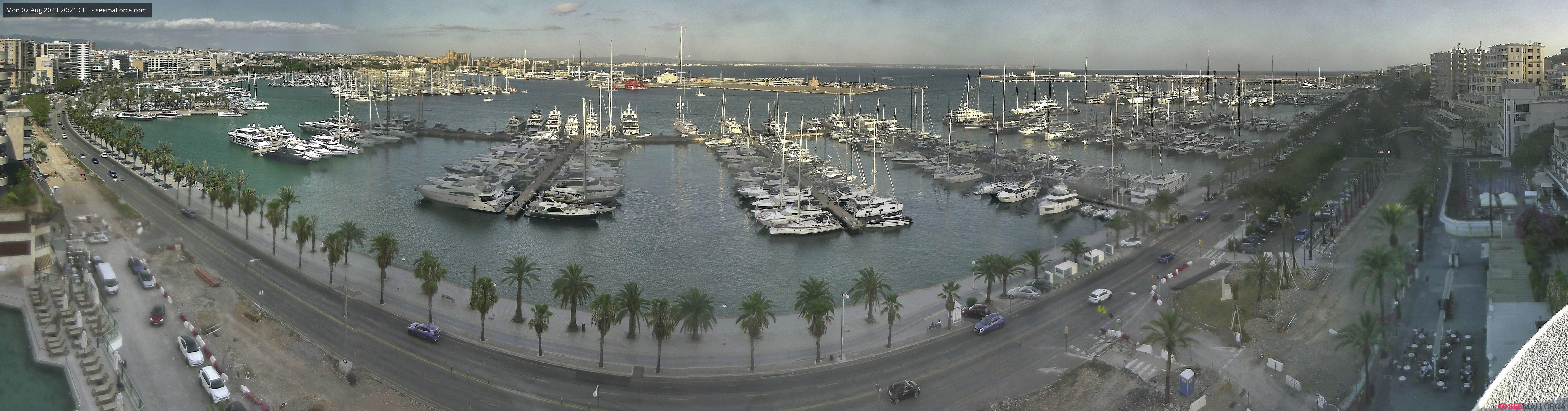 Port of Palma de Mallorca Webcams - Palma de Mallorca Port