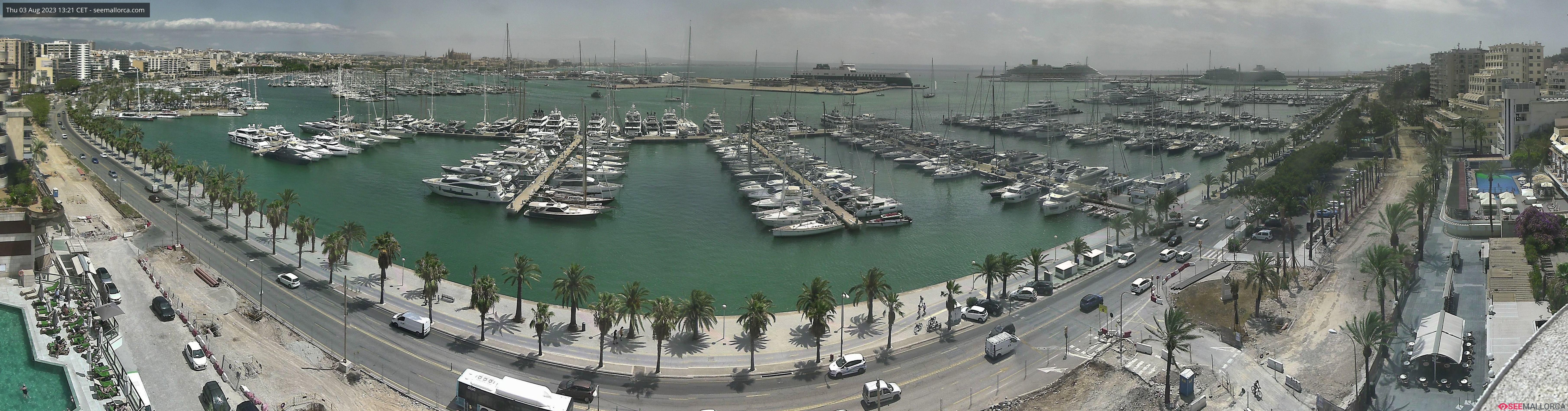 Palma de Mallorca Live Cam, Spain – Port